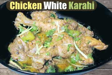 chicken white karahi