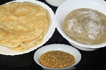 Halwa Puri Aur Chanay Recipe