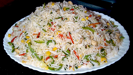 Vegetable fried rice recipe kitchen with amna ccuart Images