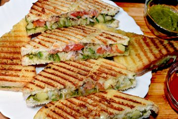 Vegetable Cheese sandwich
