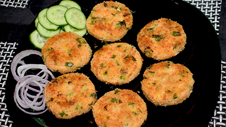 Vegetable Rice Cutlets Recipe With Leftover Rice Kitchen
