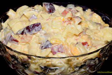 Creamy Fruit Chaat