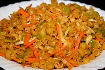 vegetable macaroni