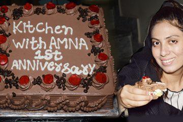 1st Anniversary Kitchen With Amna