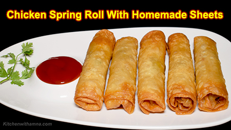 how to make spring roll sheets at home by vahchef