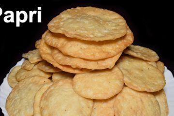 Homemade Papri