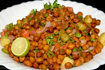 kala chana chaat