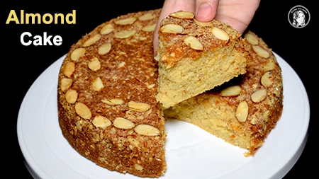Almond Cake Recipe Without Oven