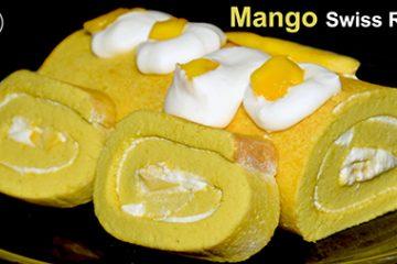 Mango Swiss Roll