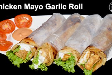 Chicken Mayo Garlic Roll
