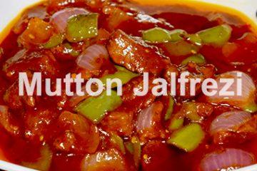 Mutton Jalfrezi