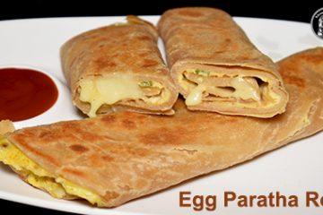 Egg Paratha Roll