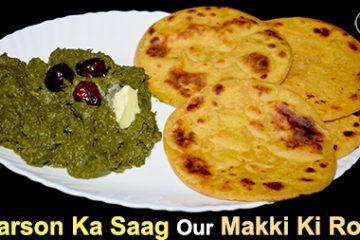 Sarson Ka Saag Aur Makki Ki Roti