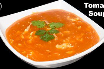egg tomato soup