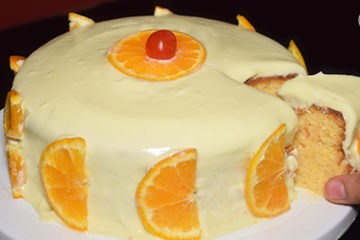 Orange Cake without oven