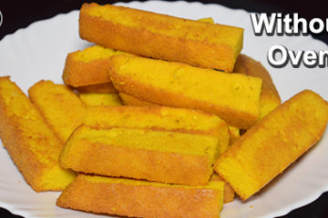 cake rusk without oven