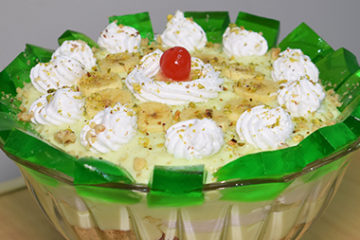 Banana Custard Trifle