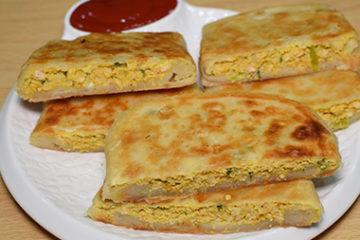 Mughlai stuffed paratha