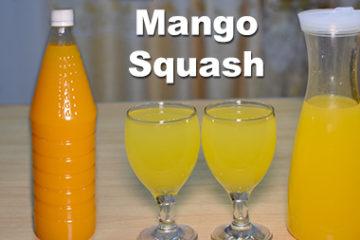 Mango Squash Recipe