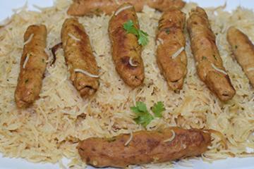 Seekh Kabab Pulao