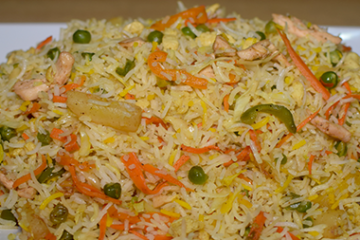 Desi Chinese Fried Rice