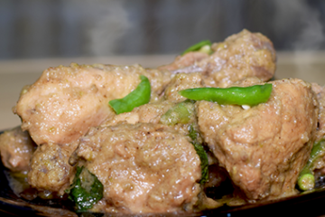 Green Chili Chicken