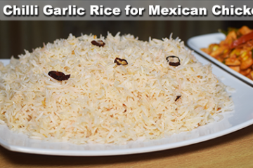 Chilli Garlic Rice