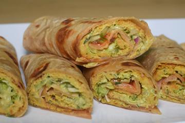 Shami Kabab Roll