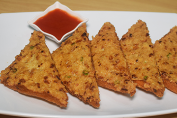Crispy Chicken Toast
