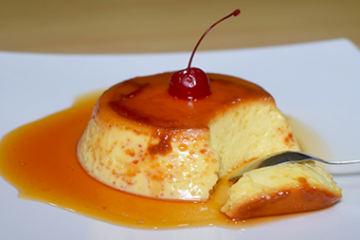 Caramel Egg Pudding