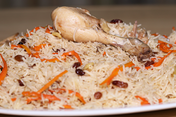 Chicken Kabuli Pulao Recipe