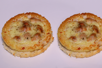 Cheesy Bread Discs