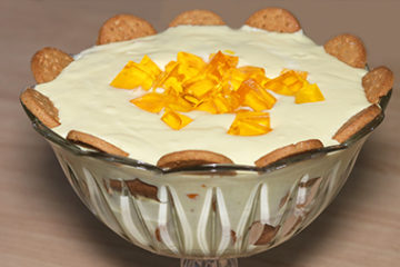 Mango Biscuit Trifle Recipe