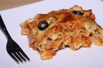 Pizza Lasagna Rolls