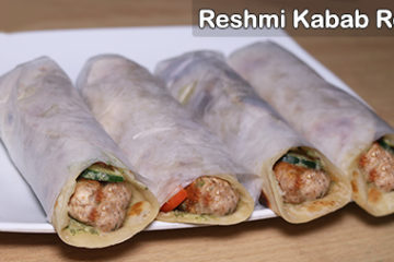 Reshmi Kabab Roll