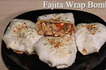 Fajita Wrap Bombs