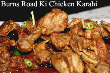 Burns Road Ki Chicken Karahi