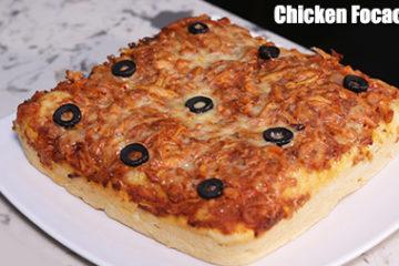 Chicken Focaccia Bread