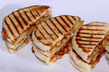 BBQ Chicken Panini Sandwich
