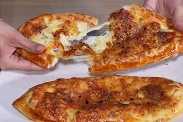 Turkish Cheese Pide