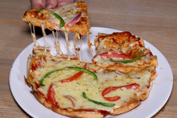 Bread Omelette Pizza