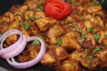 Spicy Chicken Tawa Boti