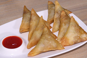 Chicken Fajita Samosa