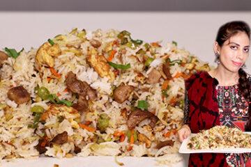 Mutton Fried Rice