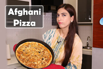 Afghani Chicken Tikka Pizza