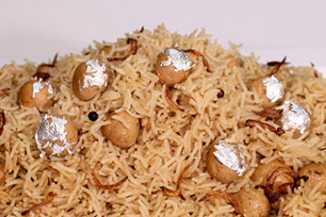 Chicken Moti Pulao