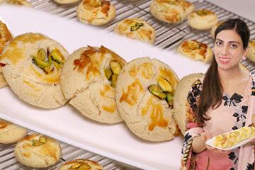 Pista Naan Khatai Recipe
