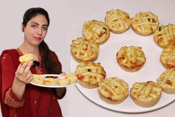 Cheesy Chicken Muffins