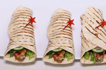 BBQ Chicken Wraps