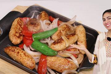 Chicken Sizzler Kabab